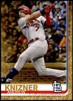 Andrew Knizner 2019 Topps Update 5x7 Gold #US182 RC /10 Cardinals