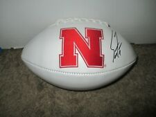 Nebraska Cornhuskers SCOTT FROST Signed Football PROOF