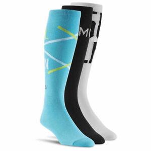 [S88249] Mens / Womens Reebok Les Mills Compression Socks (3 Pack)