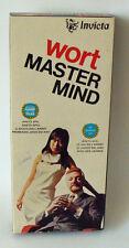 Invica 3071 - Wort Master Mind Für 2 Spieler Invica 12+ - Gebraucht