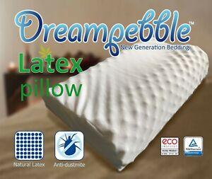 Full 100% Natural Latex Contour Massage Pillow Original from Thailand