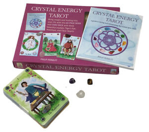 Crystal Energy Tarot Deck Cards Collection Box Gift Set Mind Body Spirit Psychic