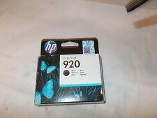 HP CD971AE CD971A Black Tintenpatrone HP 920 Neu + Original ohne OVP