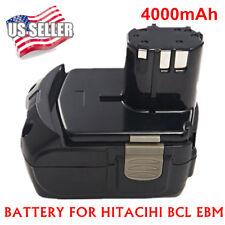 NEW Battery for HITACHI EBM1830 BCL1815 WR18DL 4.0Ah 18VOLT Li-ion WH18DL UB18DL