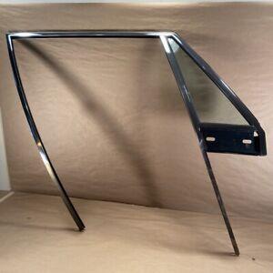 Original Jensen Interceptor Mk3 RH Passenger Side Window Frame w Vent Window OEM
