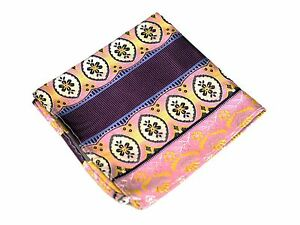 Lord R Colton Masterworks Pocket Square - Abacos Eggplant Silk - $75 New
