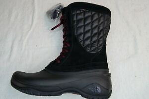 new The North Face Womens Thermoball Utility hiking Waterproof Boots Black 9.5