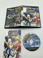 Sony PlayStation 2 PS2 CIB Complete Tested Sonic Heroes Ships Fast