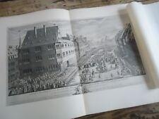 ALSACE - L' ALSACE EN FETE DOMINATION LOUIS DE FRANCE 1880 PLANCHES STRASBOURG