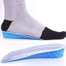 Soft Shoes Insoles Honeycomb Gel Height Increase Heel Inserts Taller Lifts Pad