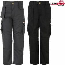 TUFFSTUFF PRO WORK JUNIOR TROUSERS KIDS 3-13 YRS BOYS GIRLS WORKWEAR CARGO PANT