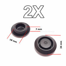 2X Hole Blanking Plugs, Grommets, Door Lock Fixing Hole Caps for Nissan