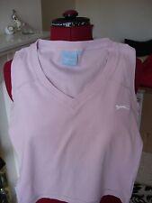 Slazenger pink sleeveless top