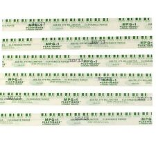 "Plastigauge Plastigage Green .001""-.003"" Rod Main Bearing Clearance strips 6"