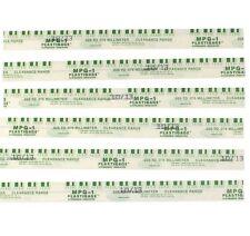 "Plastigauge Plastigage Green .001""-.003"" Rod Main Bearing Clearance strips 6"