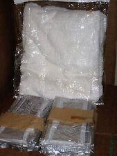 "52 Clear Plastic Storage Bags Zippered 13"" x 15"" x 4"" New"