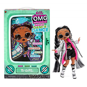 LOL Surprise OMG Dance Dance Dance B-Gurl Fashion Doll with15 Surprises, Magic