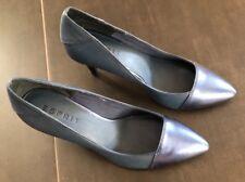 Esprit Pumps, blau in metallic Optik, Größe 40, wie neu