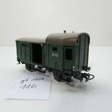 Märklin 310 .2 Packwagen 1 offene Tür Guss ca 1950 bis 1951   gb1809 -116