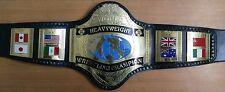 Wwf Hogan 86 Heavyweight Championship Replica Belt Made In 4Mm Brass Plates