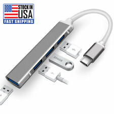 USB C Hub 4 Ports Type C to USB 3.0 Hub Adapter for MacBook and More Type C