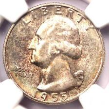 1955 Washington Quarter 25C - Certified NGC MS67 - Rare Superb Gem - $900 Value!
