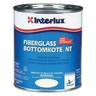 Interlux Fiberglass Bottomkote Nt Antifouling Paint Black 1 Quart Boat Marine