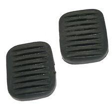 2 Black Clutch & Brake Pedal Rubber Pad Cover Sleeve For Willys Ford Jeeps ECs