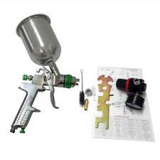 13 14 25mm Hvlp Gravity Feed Spray Gun Car Primer Detail Basecoat Clearcoat