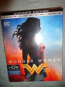 NEUF SOUS BLISTER DVD 4K ULTRA HD + BLU RAY WONDER WOMAN