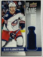 2019-20 Oliver Bjorkstand UD Upper Deck Game Jersey Card Lightning #GJ-OB