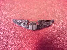 ORIGINAL PRE WWII USAC SMALL SIZE STERLING PILOT WINGS KINNEY CO NICE FEATHERING