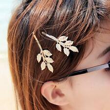 Women Hairpin Hair Accessories Fashion lovely Olive Leaves Design Hair Clip
