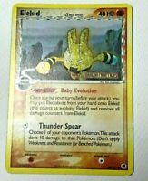 Pokemon ex DRAGON FRONTIERS ELEKID #48 REVERSE HOLO FOIL CARD