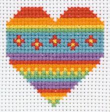 Corazón: Anchor Punto De Cruz Kit: Principiantes Kit de 1st: 3690000 \ 10011