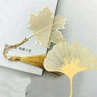 Brass Metal Bookmark Chinese Style with Tassel for Book Reading Gift xkj