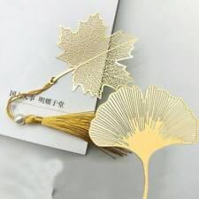 Messing Metall Lesezeichen im chinesischen Stil mit Quaste zum Lesen von Büchern