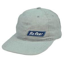 No Fear Sports Gear Skateboard Vintage Hat Cap Flat Bill Adjustable Relaxed Fit