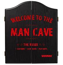 Winmau Man Cave Wooden Dartboard Cabinet