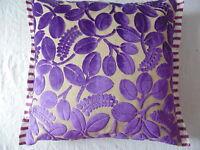 Designers Guild Velours Calaggio-Violet Housse de Coussin 9 Taille Disponible