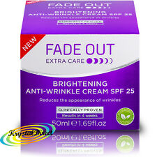 Fade Out cuidado extra brillante Anti Arrugas Crema Fps 25 - 50 Ml