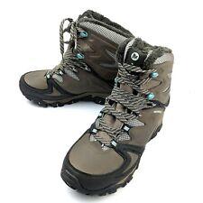 Merrell Women's Polarand 8 Winter Boots Waterproof Boulder Tan Size 6 #J32650