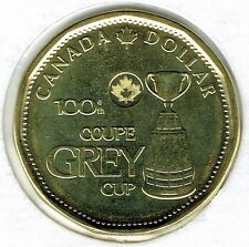 2012 Canadian Commemorative Brilliant Uncirculated Gray Cup $1 Loonie!
