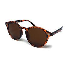 Round Lens Sunglasses Circle Glasses Oval Womens Classic Ladies Black Matte Mens