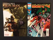 INVINCIBLE IRON MAN #27 #30 Comic Books VARIANTS By Design Super Hero Squad VF+