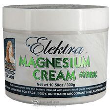 Magnesium Cream Green 300g.  From Food Grade Magnesium Chloride Hexahydrate
