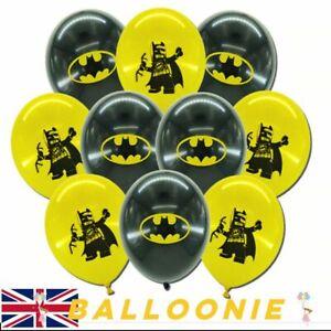 Batman Balloons Spiderman Birthday Balloon Superhero Hero Marvel Avengers