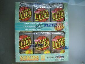 1992-93 Fleer Ultra Basketball Jumbo Cello Box Sealed **Series 2** 36 Packs