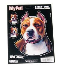 Pet Pit Bull Dog Puppy Decal for Window, Locker, Notebook, Mirror, Car, Truck