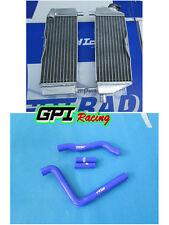 GPI racing radiator KAWASAKI KX250 kx 250 05 06 07 2005 2006  2007 +  hose